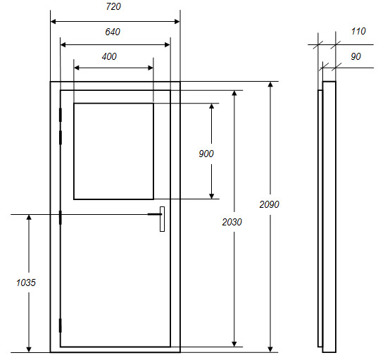 Dimension bloc porte standard 20170920062848 for Porte fenetre dimension standard